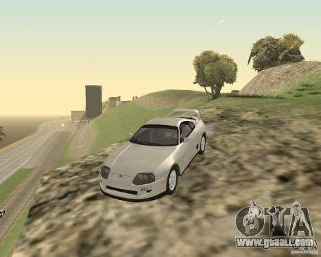 Toyota Supra 3.0 24V for GTA San Andreas left view