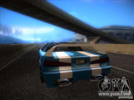 New Infernus for GTA San Andreas right view