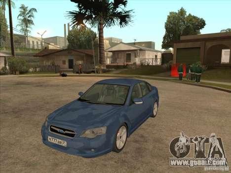 Subaru Legacy 3.0 R for GTA San Andreas