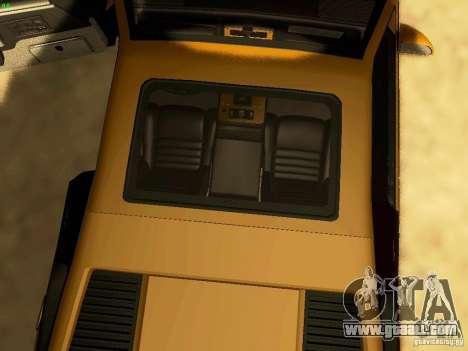 Pontiac Fiero V8 for GTA San Andreas side view
