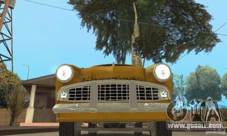 Moskvich 407 1958 for GTA San Andreas wheels