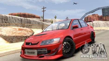 Mitsubishi Lancer Evolution VIII MR for GTA 4