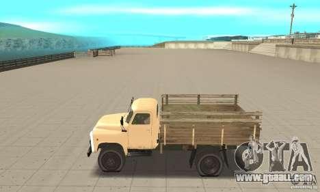 Gaz-52 for GTA San Andreas left view