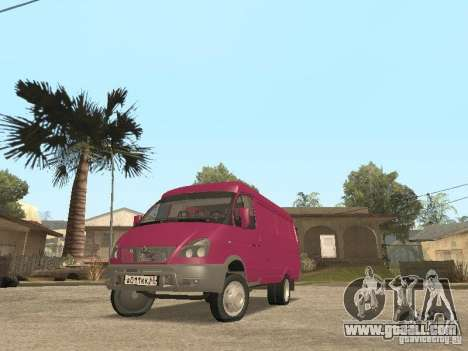 Gazelle 2705 for GTA San Andreas side view