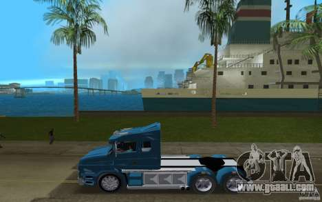 Scania T164 for GTA Vice City left view