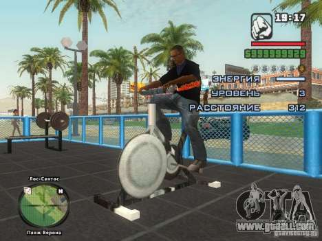 THE MIZ T-shirt for GTA San Andreas sixth screenshot