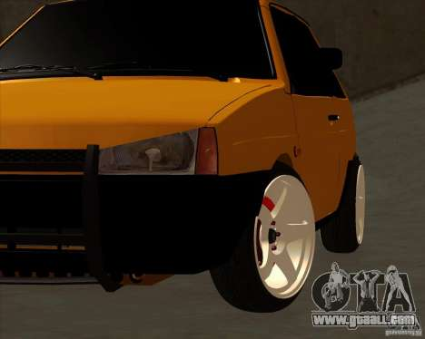 VAZ 2108 (version with white discs) for GTA San Andreas right view