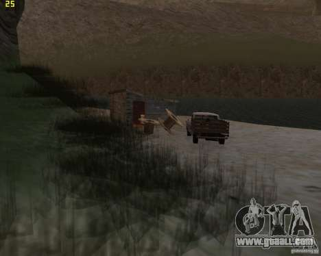 Party on the nature for GTA San Andreas second screenshot