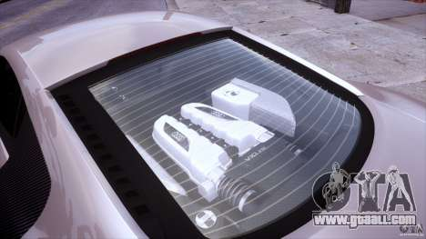 Audi R8 V10 for GTA 4 side view