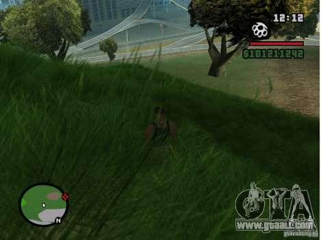 Real Grass v1.0 for GTA San Andreas forth screenshot