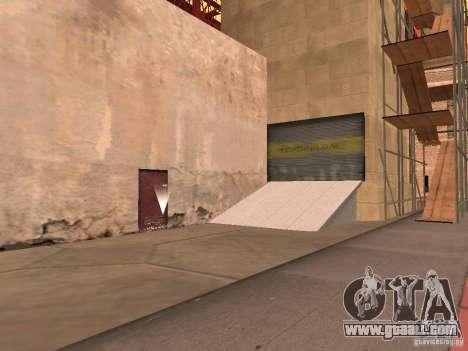 Red-Elevator lift Bridge bridge for GTA San Andreas second screenshot