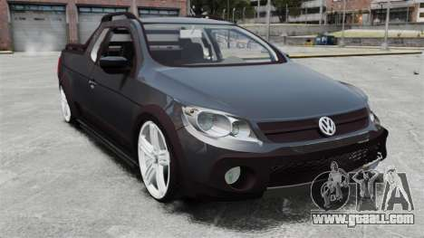 Volkswagen Saveiro Cross Edit for GTA 4