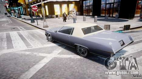 Manana Tuned for GTA 4 right view