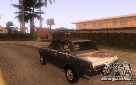 Datsun 510 4doors for GTA San Andreas back left view