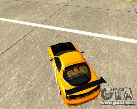 Mazda RX-7 sumopoDRIFT for GTA San Andreas right view