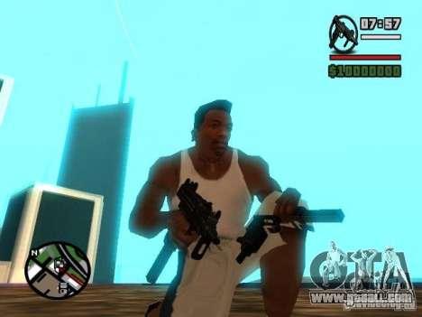 Gangster Weapon Pack for GTA San Andreas third screenshot