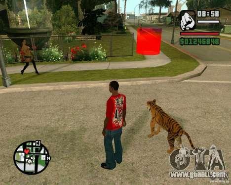 Tiger in GTA San Andreas for GTA San Andreas third screenshot