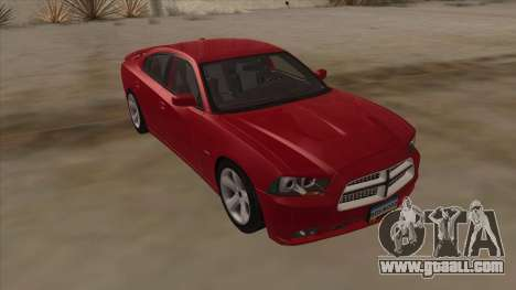 Dodge Charger RT 2011 V1.0 for GTA San Andreas right view