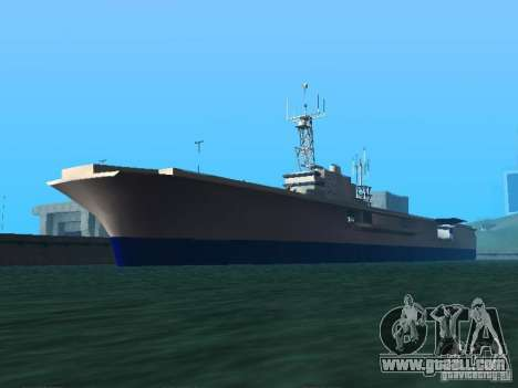 Aircraft Carrier for GTA San Andreas