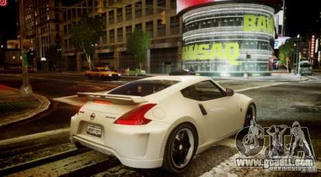 Nissan 370Z Final for GTA 4 right view