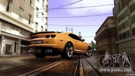 Chevrolet Camaro ZL1 2011 v1.0 for GTA San Andreas left view