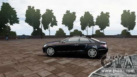 Mercedes Benz E500 Coupe for GTA 4 left view