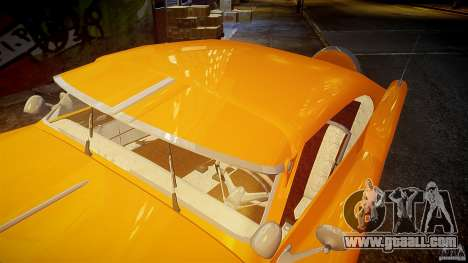 Buick Custom Copperhead 1950 for GTA 4 interior