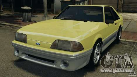 Ford Mustang GT 1993 v1.1 for GTA 4