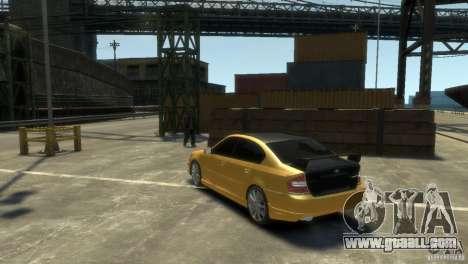 SUBARU Legacy B4 tuning for GTA 4 right view