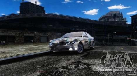 Nissan Laurel GC35 Itasha for GTA 4 back view