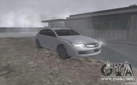 Subaru Impreza-style SA for GTA San Andreas left view