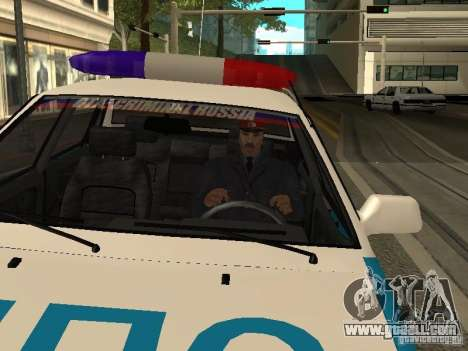 Police Of The USSR for GTA San Andreas second screenshot