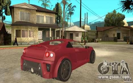 Mastretta MXT for GTA San Andreas right view