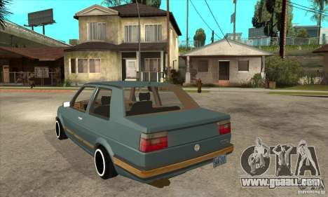 Volkswagen Jetta MKII VR6 for GTA San Andreas back left view