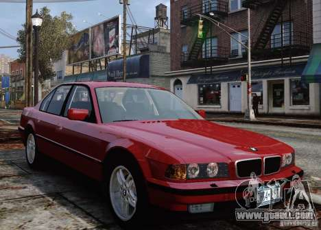 BMW 750i E38 1998 M-Packet for GTA 4