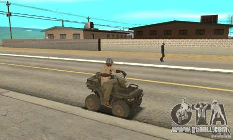 New Atv for GTA San Andreas right view
