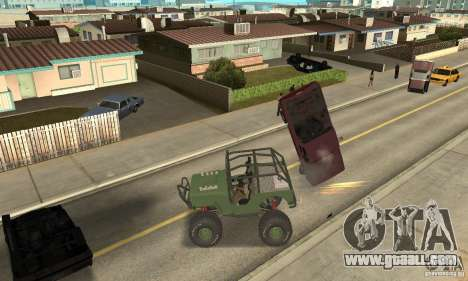 Jeep Willys Rock Crawler for GTA San Andreas left view