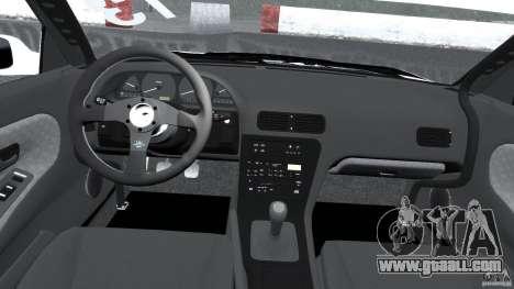 Nissan Silvia S13 Non-Grata [Final] for GTA 4 back view
