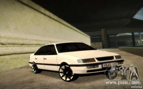 Volkswagen Passat B4 for GTA San Andreas back left view