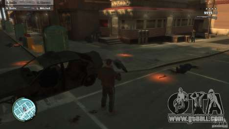 First Person Shooter Mod for GTA 4 fifth screenshot