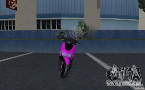 Honda Vario for GTA San Andreas right view