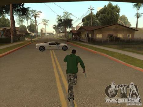 The CLEO script: Super Car for GTA San Andreas forth screenshot