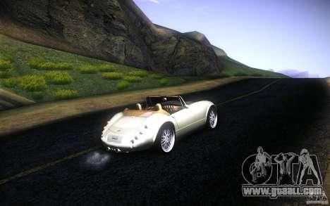 Wiesmann MF3 Roadster for GTA San Andreas engine