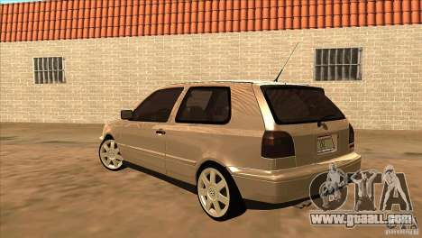 Volkswagen Golf MK3 VR6 for GTA San Andreas back left view