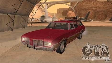 Oldsmobile Vista Cruiser 1972 for GTA San Andreas