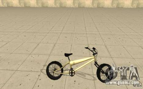 BMX Long for GTA San Andreas left view