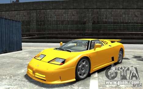 Bugatti EB110 Super Sport for GTA 4