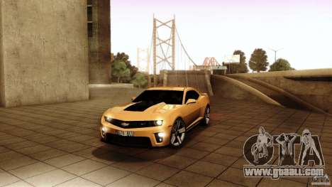 Chevrolet Camaro ZL1 2011 v1.0 for GTA San Andreas
