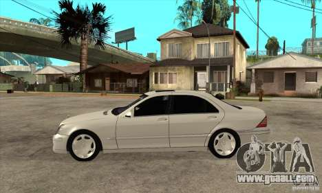 Mercedes Benz S600 for GTA San Andreas left view