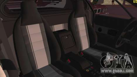 BMW M1 (E26) 1979 for GTA Vice City back view